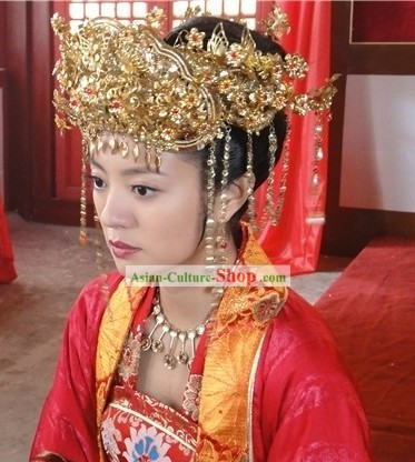 Ancient Chinese Princess Wedding Phoenix Coronet