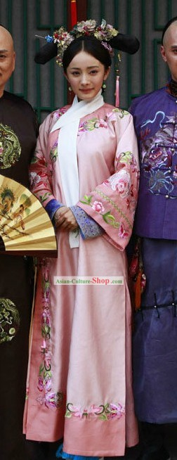 Ancient Chinese Qing Dynasty Princess Costumes