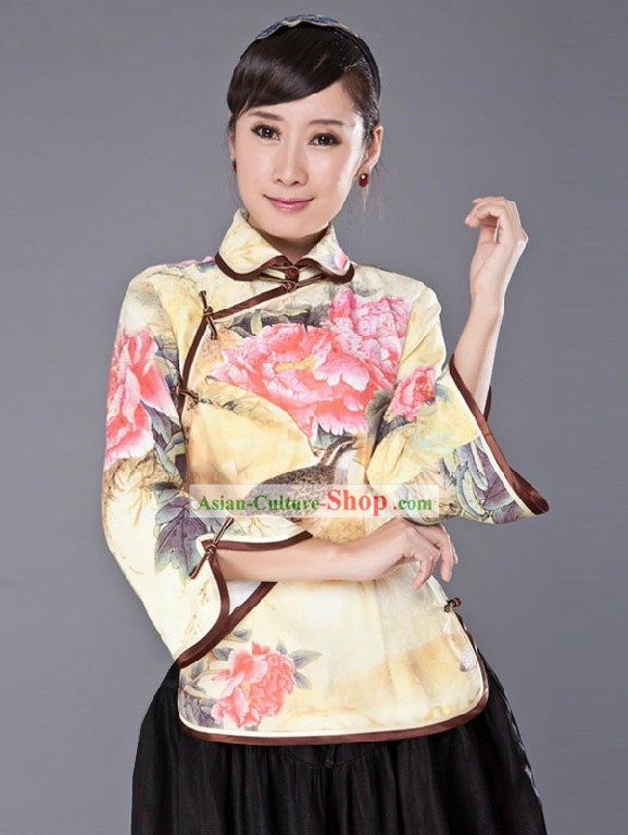 Traditional Chinese Minguo Blouse for Women