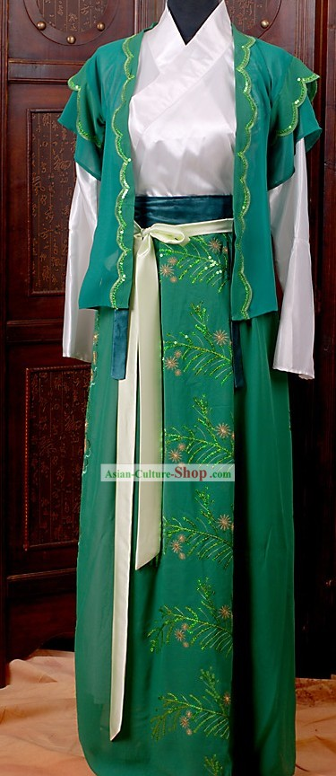 Ancient Chinese Swordsman Costume for Women