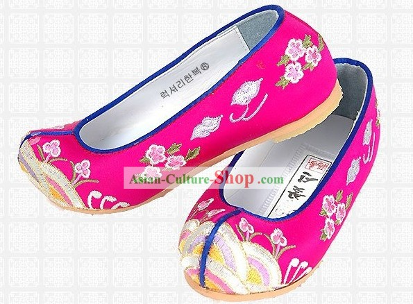 Korean Hanbok Shoes for Baby Girl