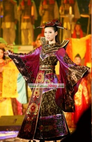 Asian Style Beauty Pageant Costumes Complete Set