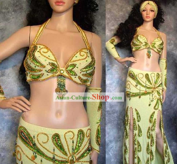 Custom Made Belly Dance Costumes Complete Set