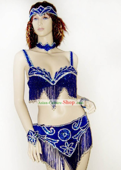 Top Competition Belly Dance Costumes Complete Set