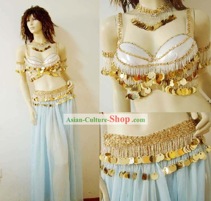 Top Belly Dancing Costume Complete Set for Women