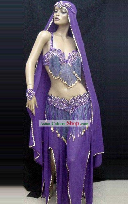 Ancient Belly Dance Costumes Complete Set for Women
