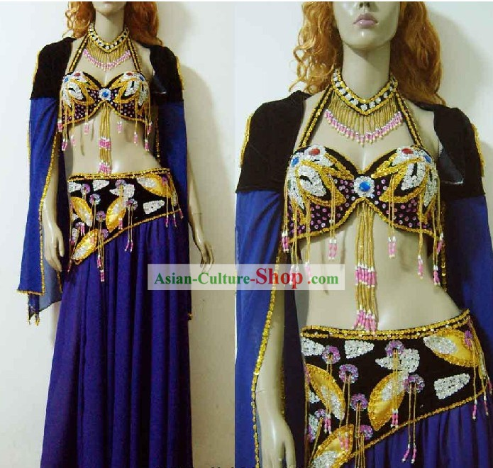 Stunning Belly Dance Costumes Complete Set