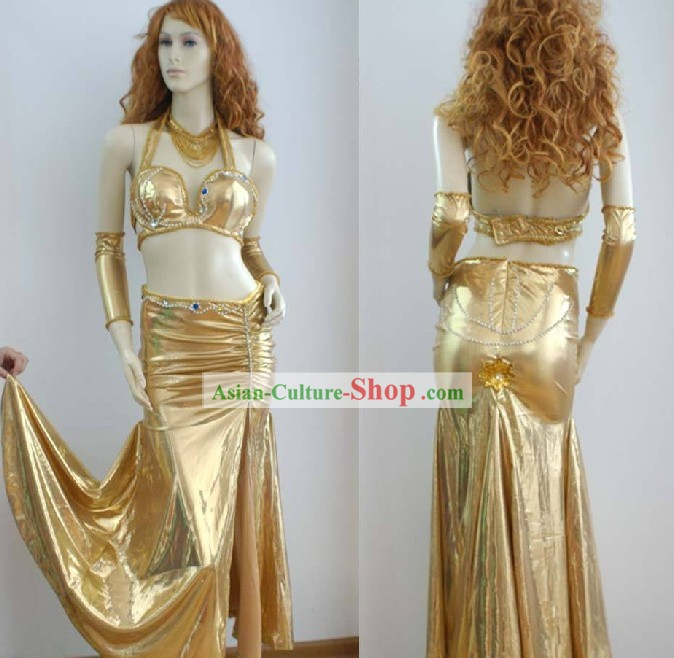 Egyptian Belly Dance Costumes Complete Set