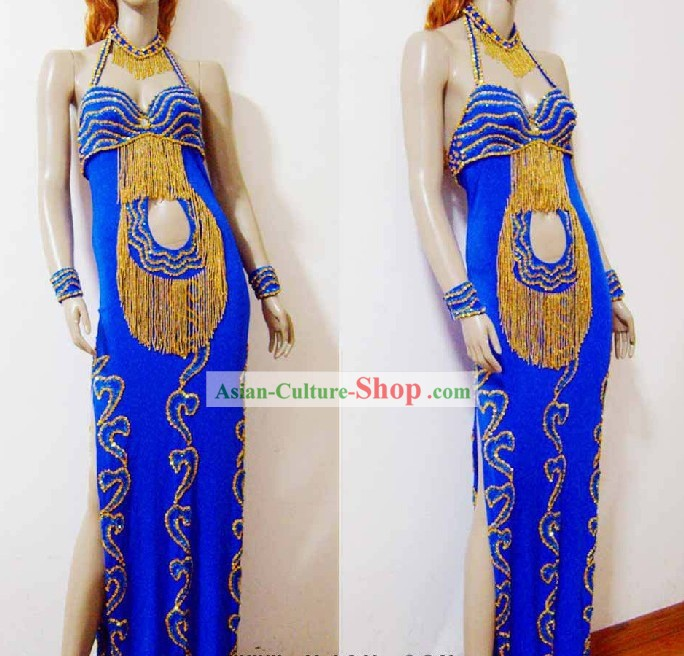 Top Egyptian Belly Dance Costumes Complete Set for Women