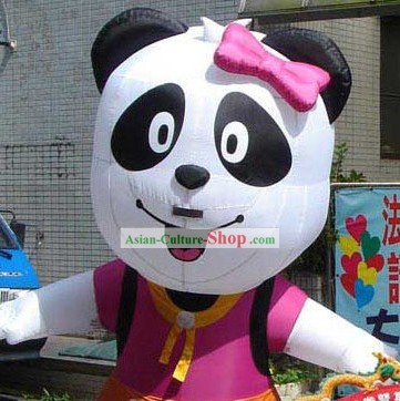 Chinese Walking Inflatable Mascot Panadas Costumes Complete Set