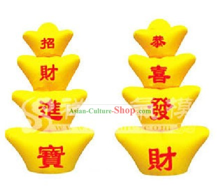 Traditional Large Chinese Inflatable Gold