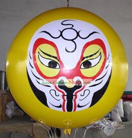 Chinese Inflatable Opera Masks Balloons