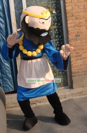 Journey to West Sha Seng Mascot Costumes Complete Set