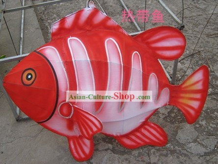 Chinese Hand Made Fish Lantern