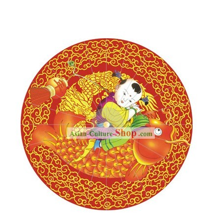 Chinese New Year Spring Festival Umbrella