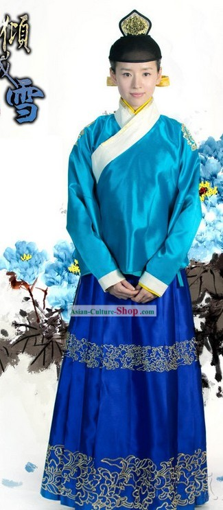 China Ming Dynasty Women Clothes