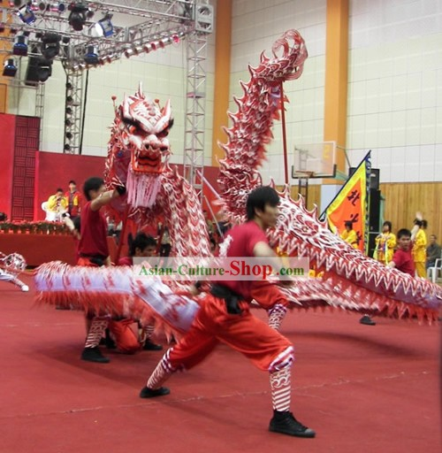 Supreme Business Opening and Festival Celebration Luminous Dragon Dance Costumes Complete Set
