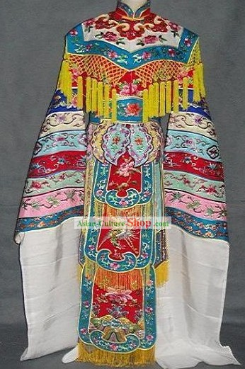 Peking Opera Embroidered Phoenix Costumes Complete Set