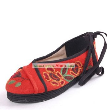 Chinese Traditional Handmade Cloth Boots