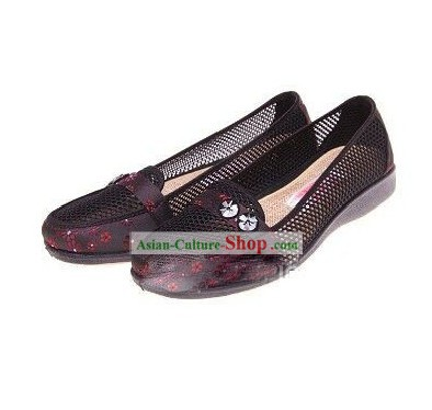 Traditional Chinese Beijing Bu Ying Zhai Sandals for Women