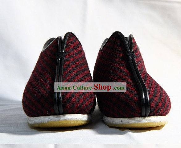 Chinese Handmade Bu Ying Zhai Cotton Shoes for Women