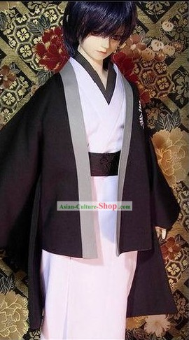 Traditional Japanese Kimono Costumes Set for Men