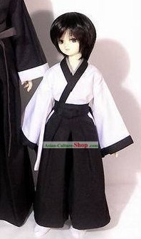 Traditional Japanese Kimono Dress Set for Children