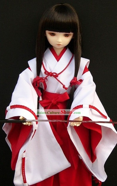 Traditional Japanese Kendoist Kimono Costumes Complete Set