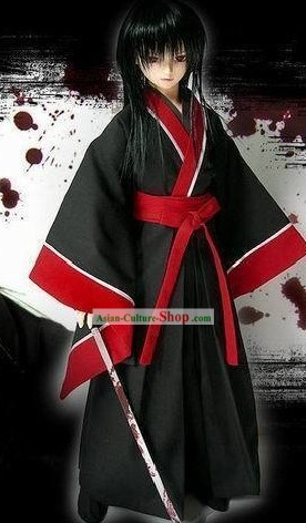Traditional Japanese Kendoist Costumes Complete Set for Men