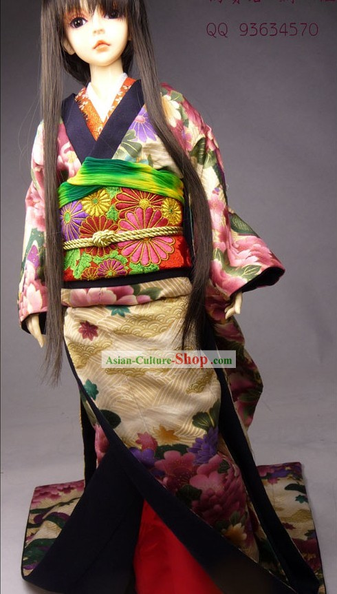 Ancient Japanese Prince Costumes Complete Set for Men