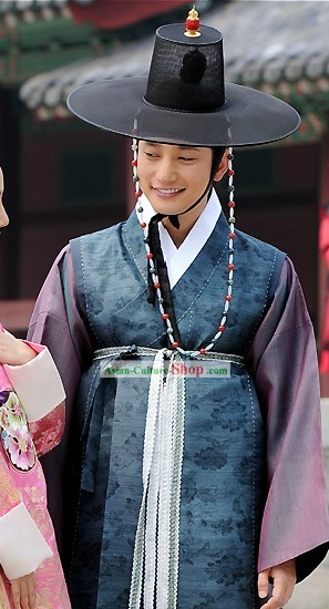 Ancient Korean Palace Official Costumes Complete Set