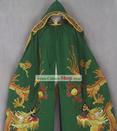 Chinese Opera Stage Performance Dragon Cape