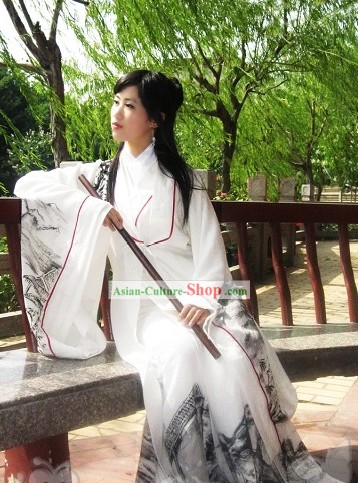 Traditional Chinese Hanfu Clothes Set for Women