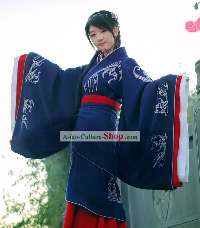 Ancient Han Dynasty Clothing Full Set for Women