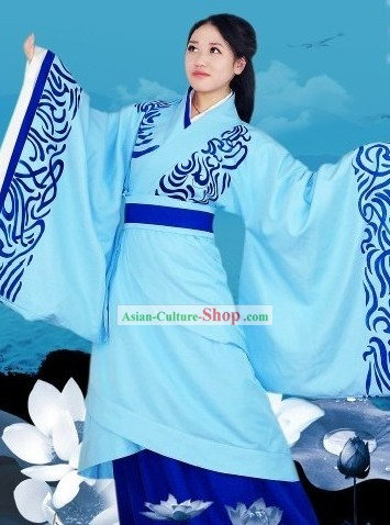 Chinese Formal Occasions and Ceremonies Clothing Complete Set for Women