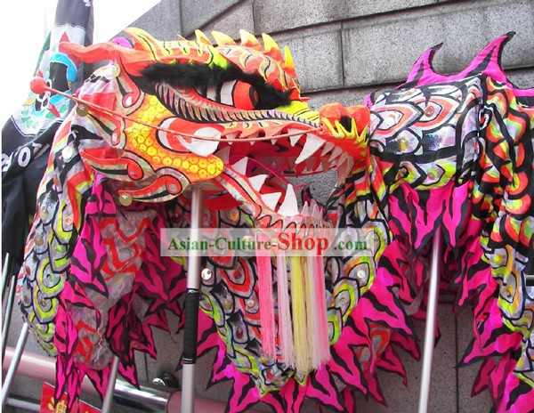 Competition and Parade Professional Performance Business Opening Dragon Dance Costumes Complete Set