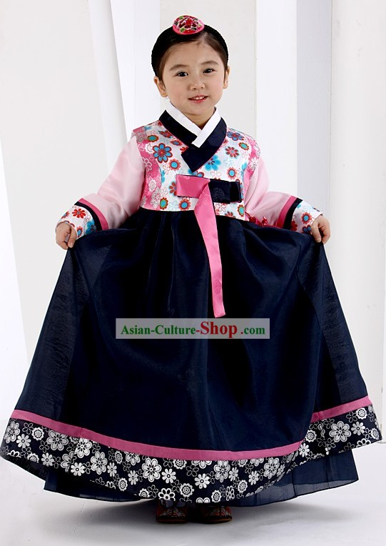 Traditional Korean Ceremony Birthday Hanbok for Kids