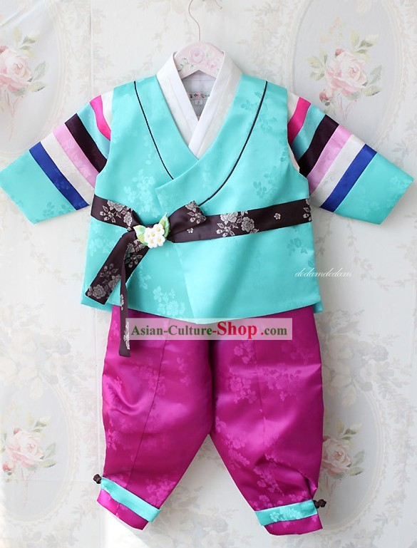 Traditional Korean Children Birthday Ceremony Hanbok