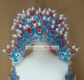 Peking Opera Butterfly Phoenix Crown