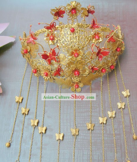 Traditional Chinese Wedding Phoenix Crown
