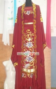 Chinese Yueju Opera Embroidered Costumes