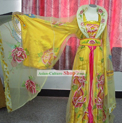 Chinese Opera Empress Phoenix Clothing Full Set