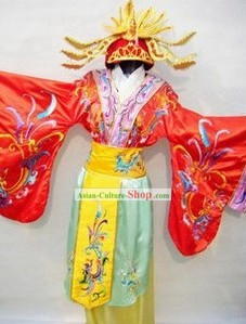 Song Dynasty Empress Costumes and Coronet Set