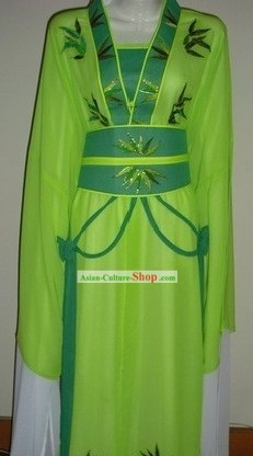 Traditional Chinese Opera Bamboo Costumes for Women