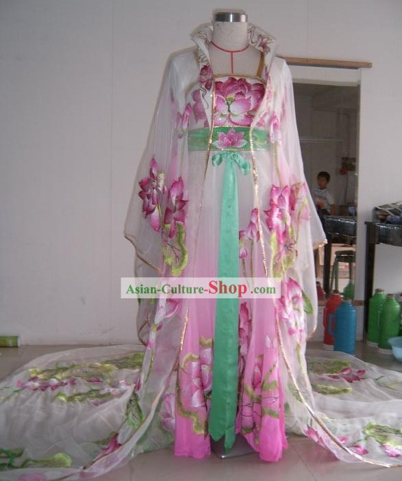 Chinese Opera Tang Dynasty Empress Stage Performance Costumes