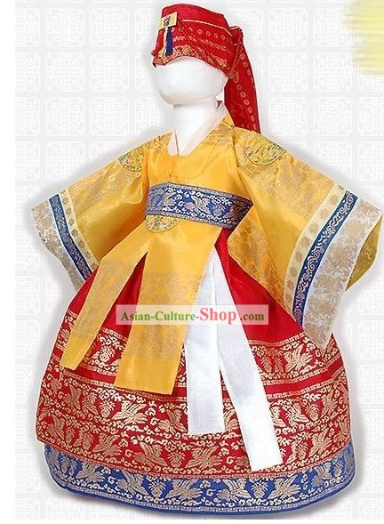 Traditional Korean Court Palace Royal Hanbok for Kids