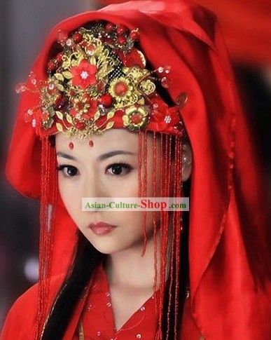 Ancient Chinese Wedding Phoenix Crown