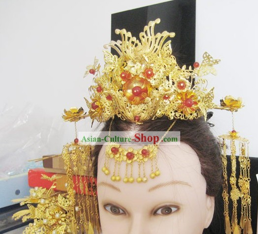 Ancient Chinese Princess Hair Accessories Decoration Set