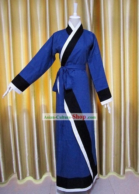Chinese Classical Qu Ju Garment Clothing
