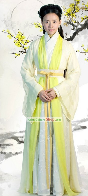 Chinese Ming Dynasty Hanfu Clothing Complete Set for Beauty